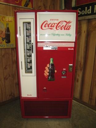 Vendo Coke Machine Restoration Coca Cola