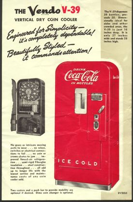 Vendo Coke Machine History and Serial Numbers