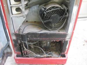 CS-96 compressor before
