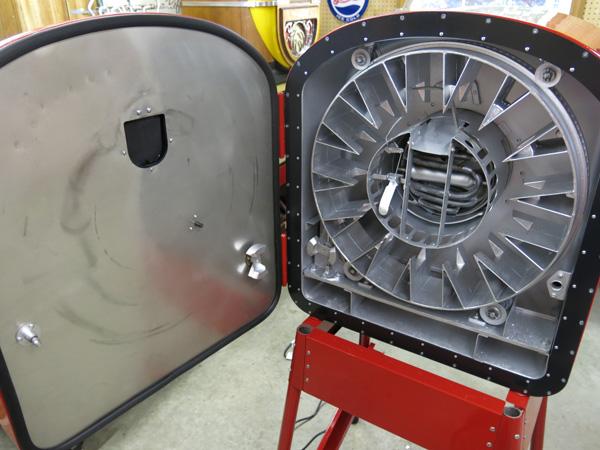 vintage soda machine restoration parts