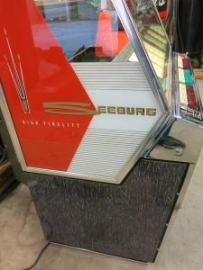 Seeburg 201 Left Side After