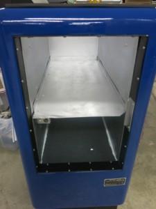Cabinet liner installed