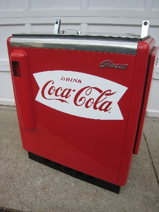 Glasco Slider Coca Cola Machine Restoration