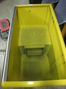 Ideal 85 Slider RC cabinet after paint