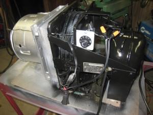 Ideal 85 Slider RC compressor after