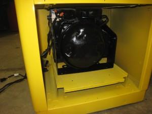 Ideal 85 Slider RC compressor installed