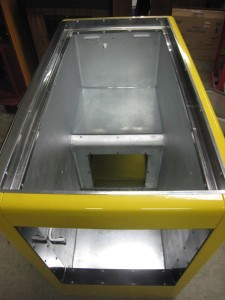 Ideal 85 Slider RC liner installed