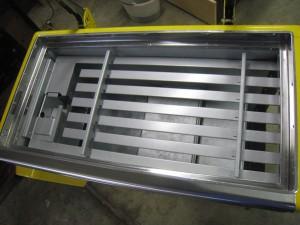 Ideal 85 Slider RC rack installed