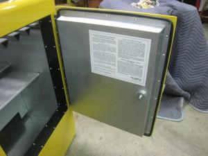 Ideal 85 Slider RC side door inside