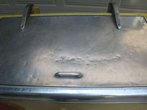 Ideal 85 Slider RC top lid before