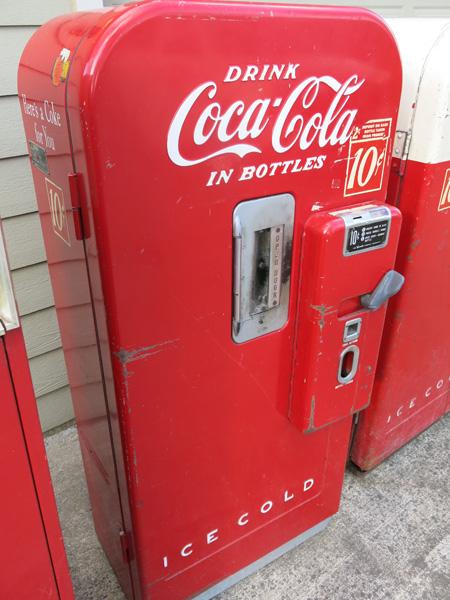 coke machine sale
