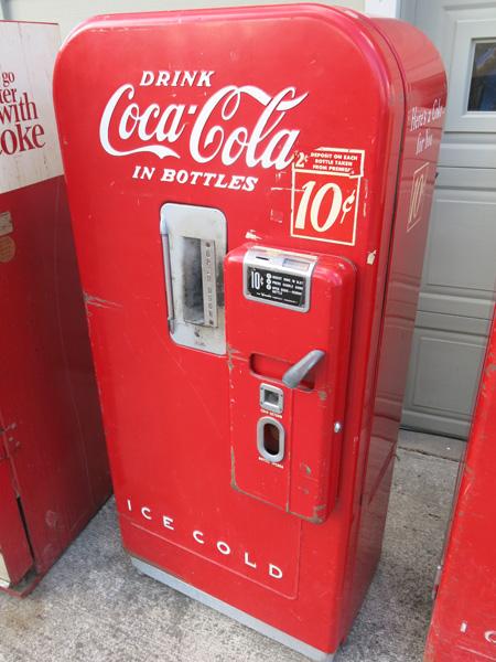 vendo coke machine for sale